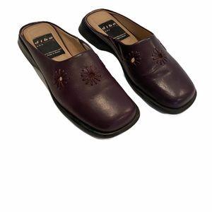 Diba Bally Leather Slip-on Mule